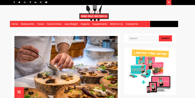 alt = '' more than a mouthfull food blog ''