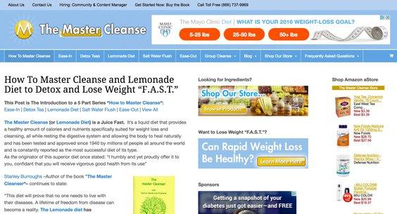alt = '' master cleanse food blogs that accept guest post ''