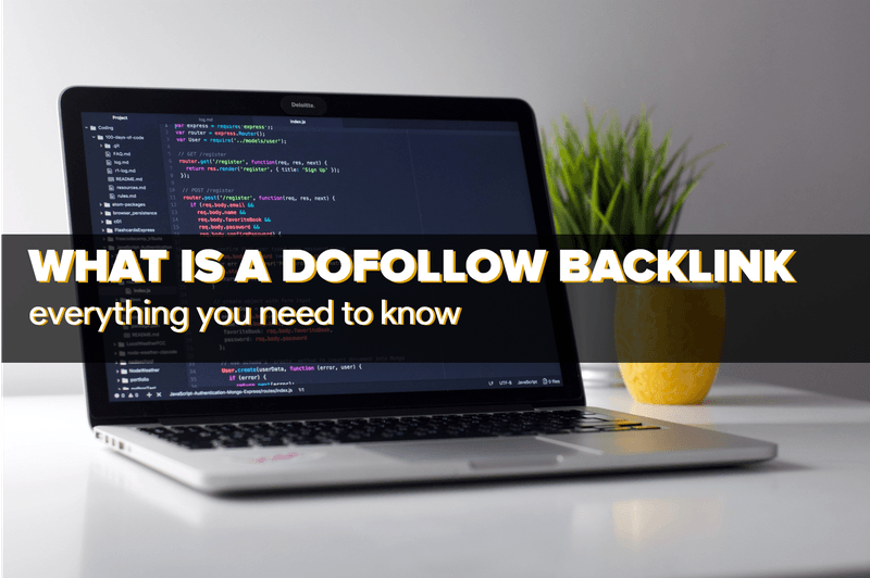 Laptop with dofollow backlink html code