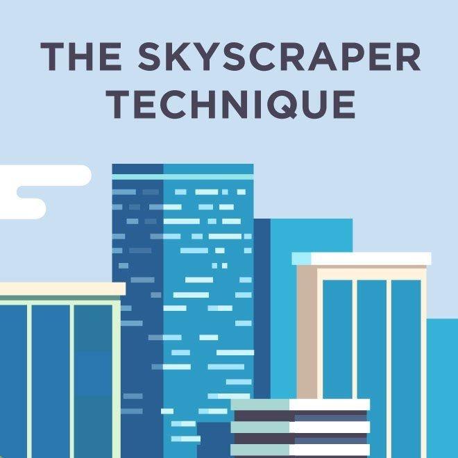 alt = '' the skyscrapper technique to create quality content ''