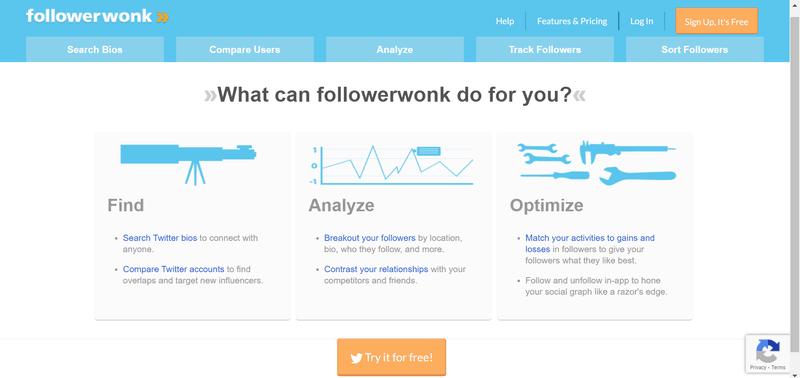 Followerwonk for blogger outreach